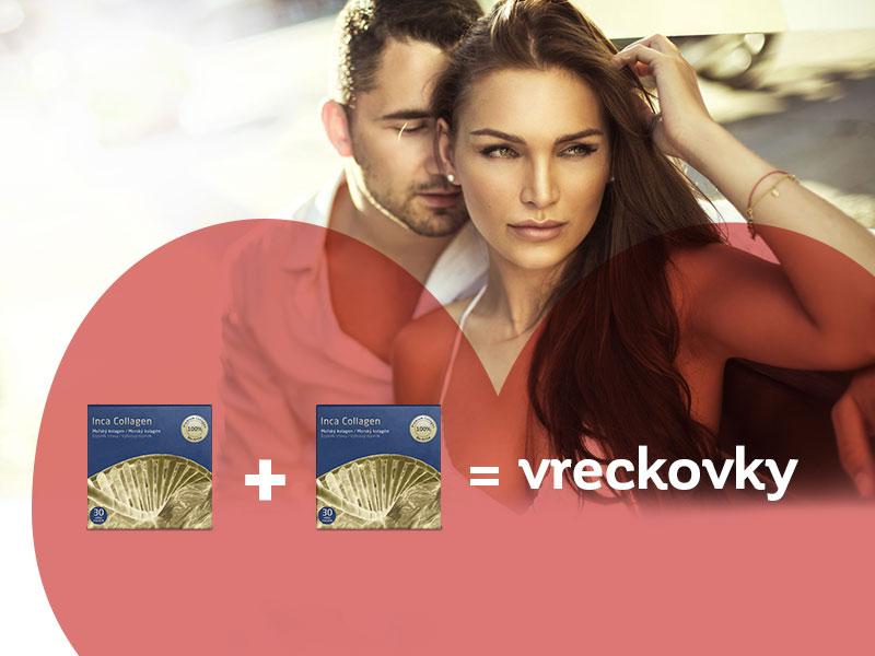 Kúpte si 2 kolagény počas valentínskeho týždňa lásky a získajte vreckovky ako darček.